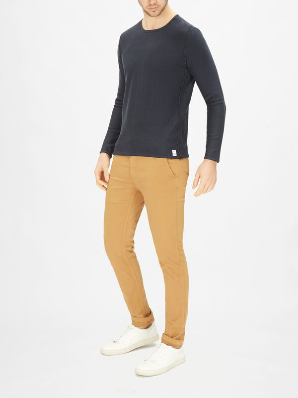 Essential Crewneck Cotton Sweatshirt