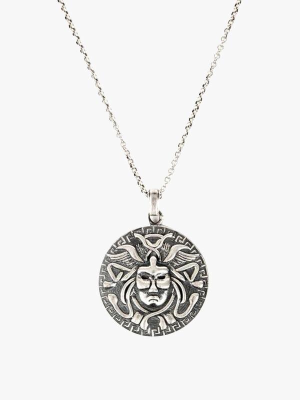 Silver Medusa Necklace