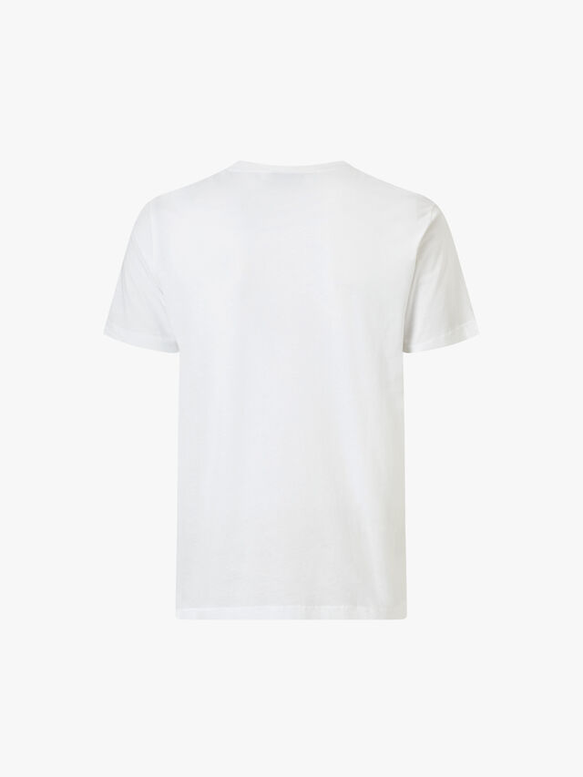 Skull Sports Stripe Print T-Shirt