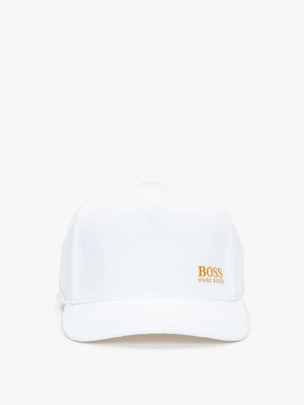 Honeycomb-Jersey Logo Cap