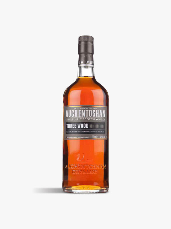 Auchentoshan Triple Wood Single Malt Whisky 70cl