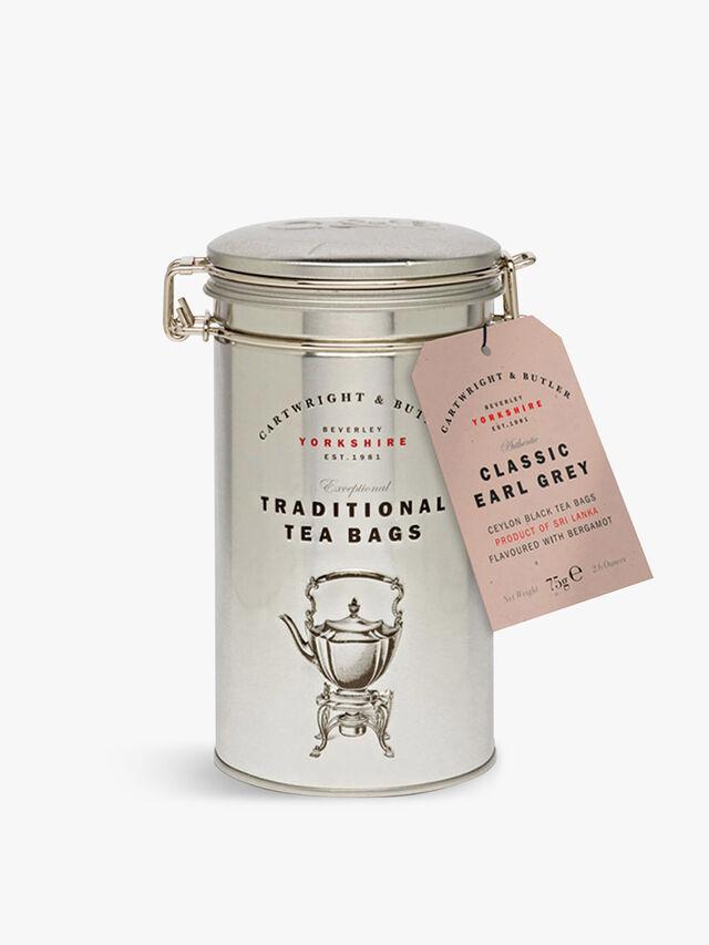 Earl Grey Tea Bags Tin 75g