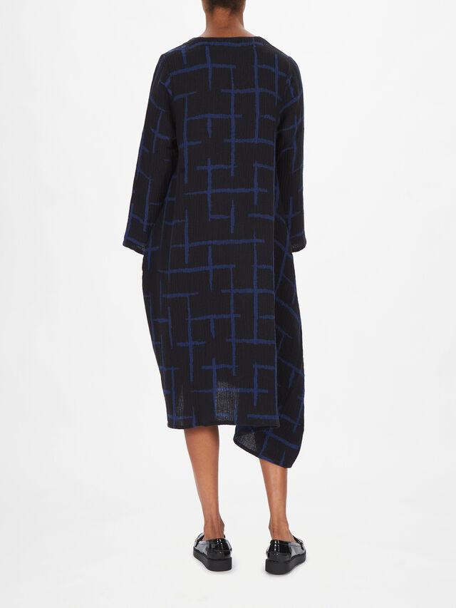 Hilma Cross Pattern Dress
