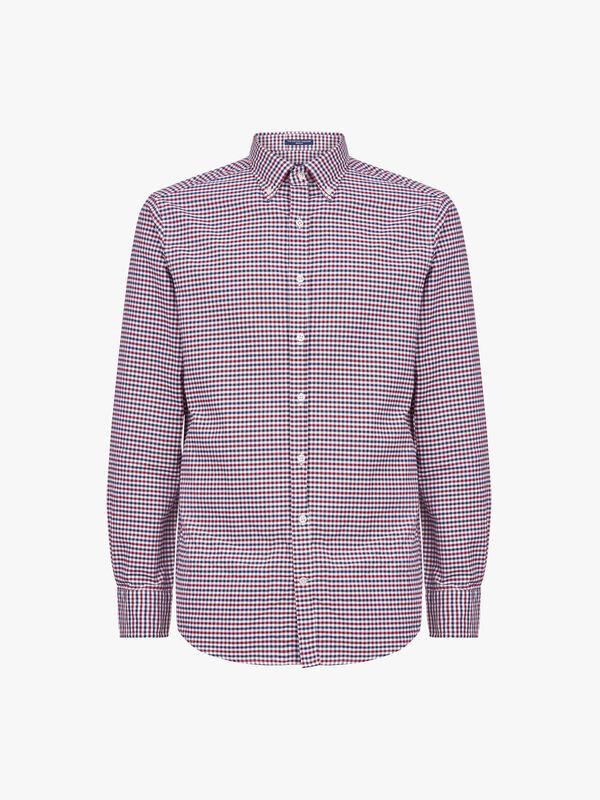 Regular Fit Madras Oxford Shirt