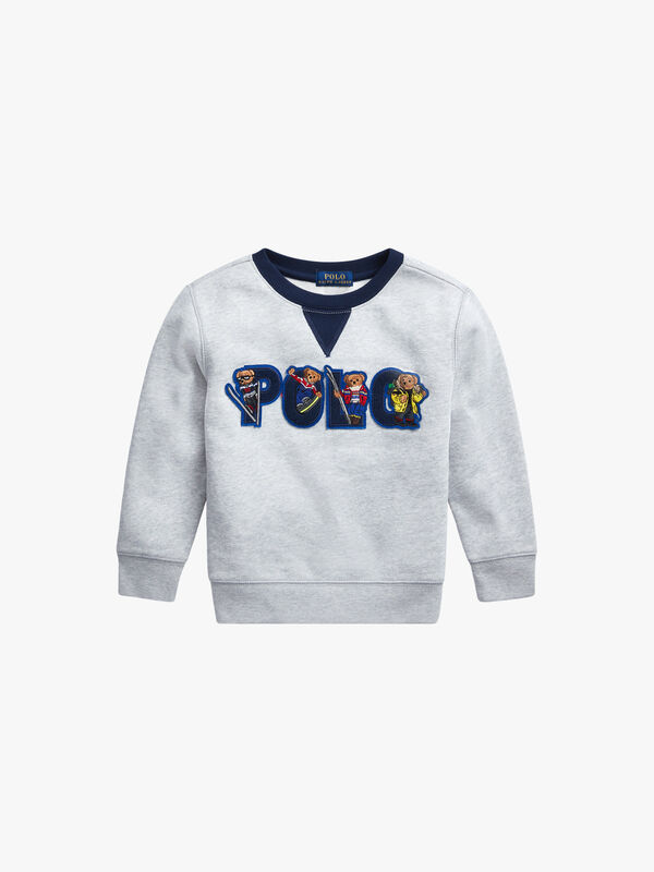 Polo Ski Bear Fleece Sweatshirt