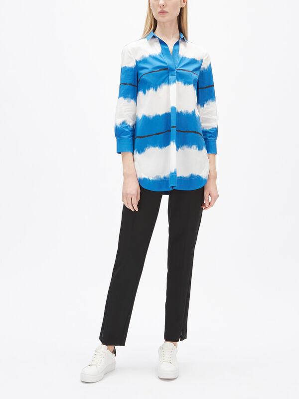 Watercolour Stripe Shirt