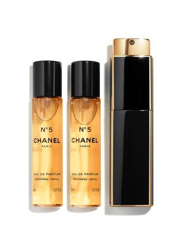 N°5 Eau De Parfum Twist and Spray 3x20ml
