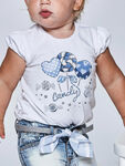CandyPrint and Applique T-Shirt