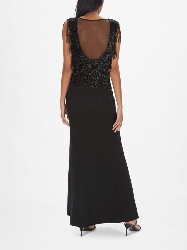 Plunge V-Neck Gown