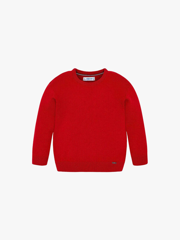 Basic Crew Neck Knitted Top