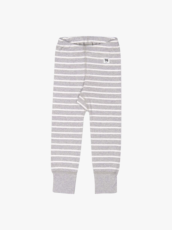 Striped GOTS Organic Baby Leggings