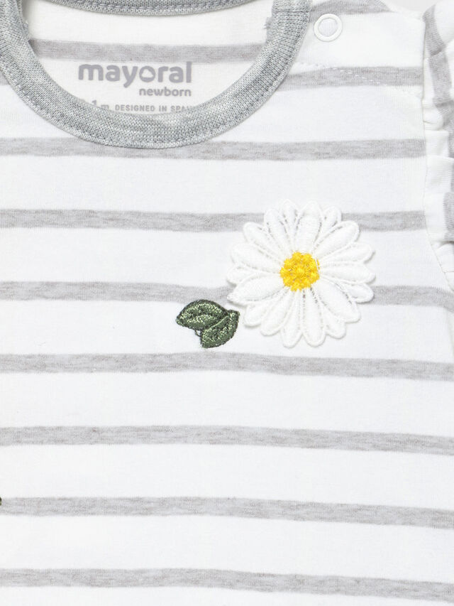 Daisy & Stripe Bubble