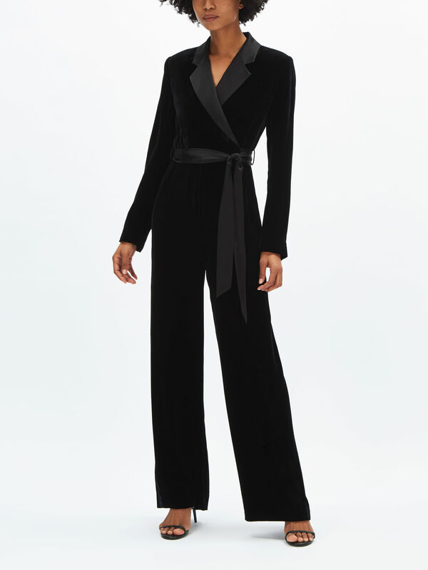 Monica Velvet Jumpsuit