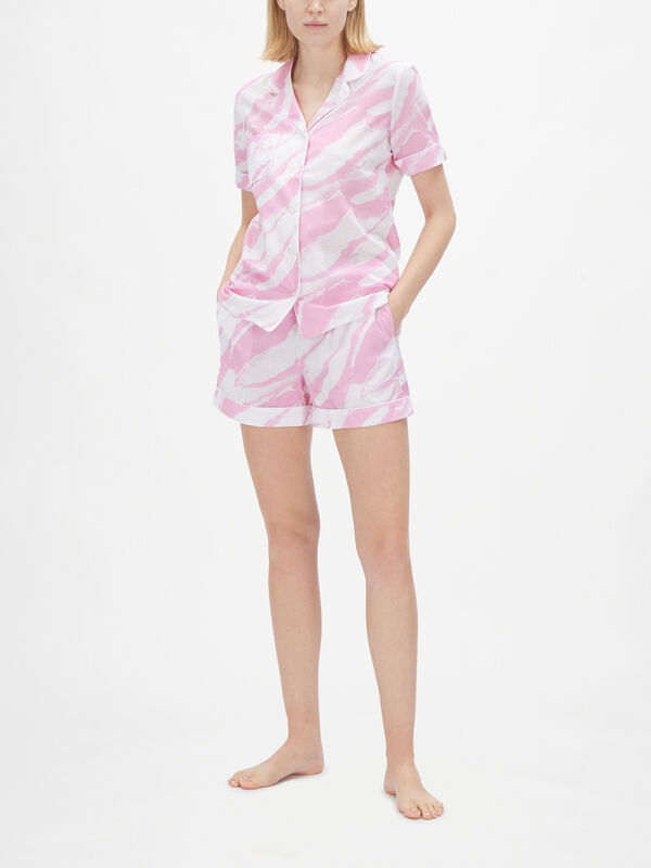 Ledbury Ladies Shortie Pyjama Set