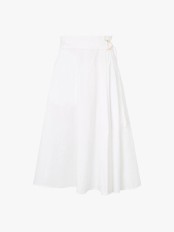 Desio Midi A Line Skirt