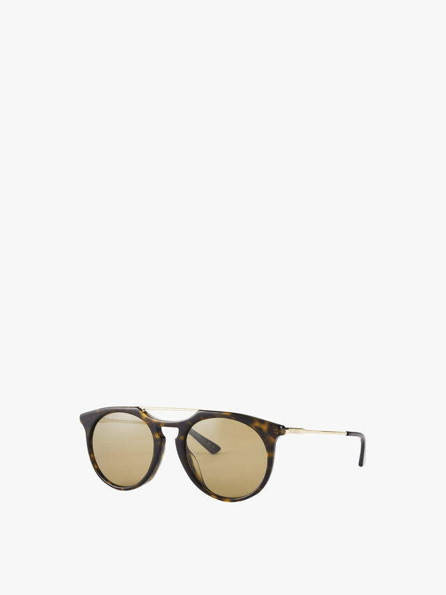 Double Bridge Acetate Sunglasses