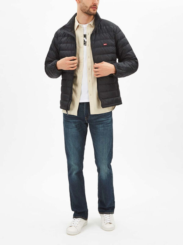 Dehon Quilted Down Puffer Jacket