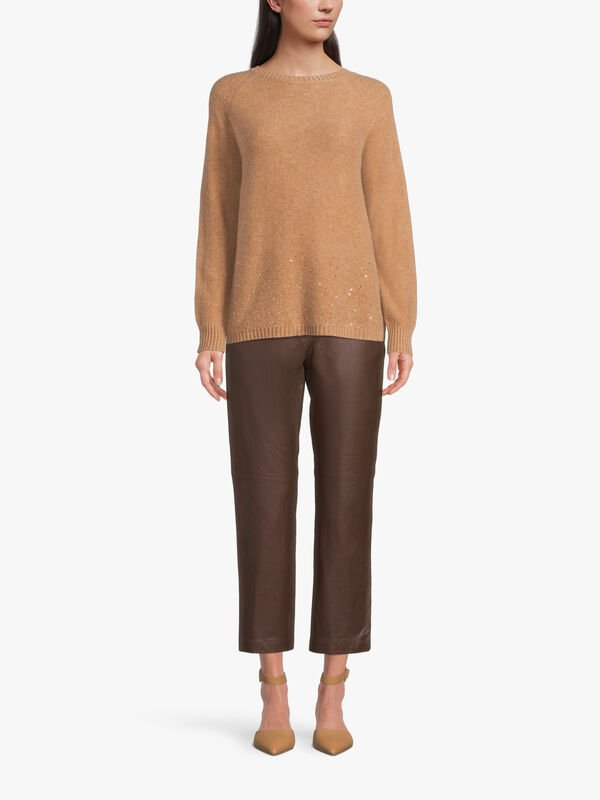 Giacomo Cashmere Blend Knitted Sweater