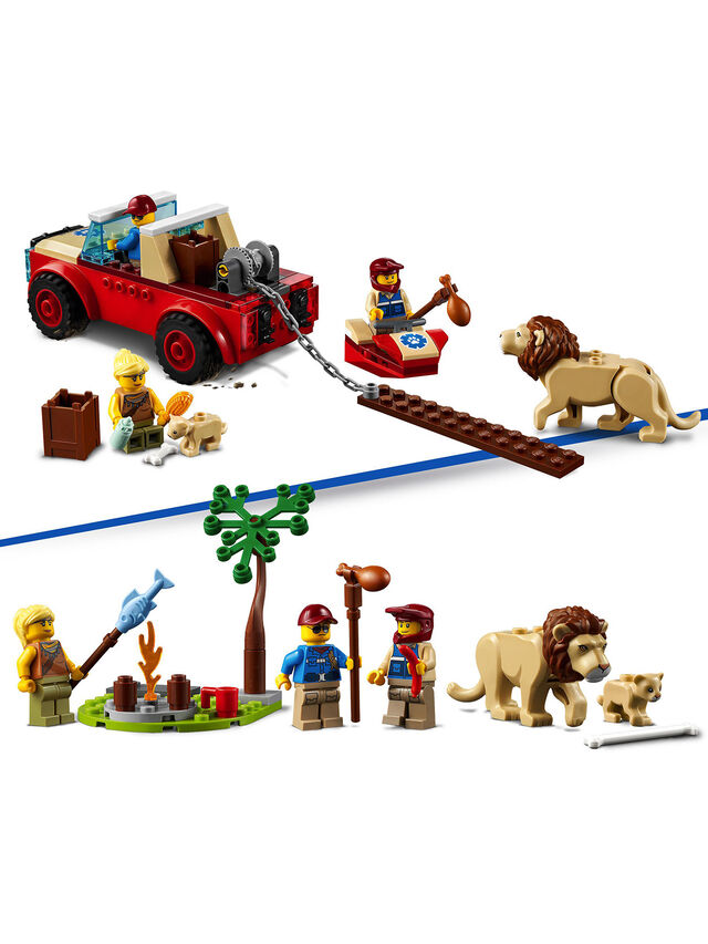 City Wildlife Rescue Off Roader Car Toy