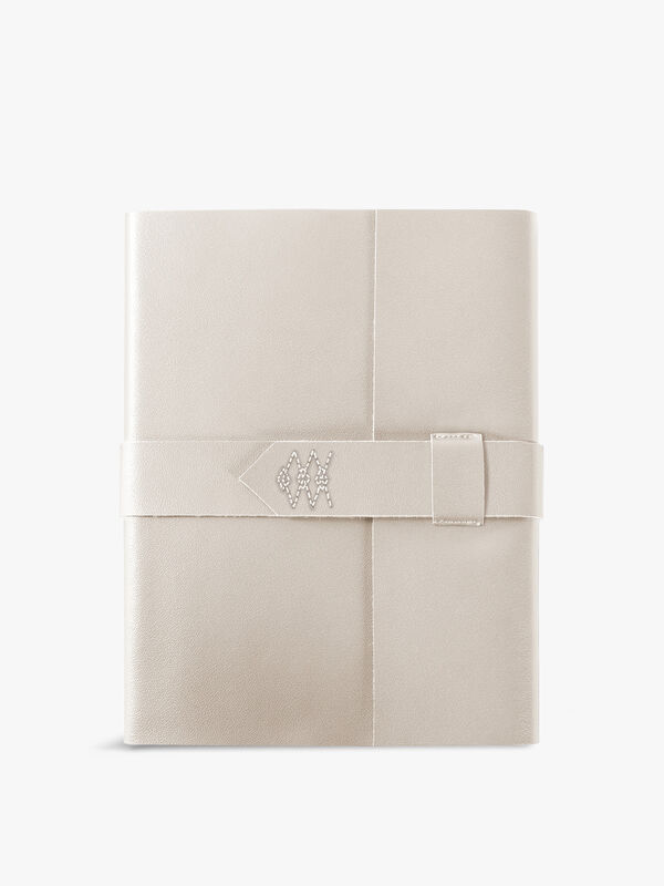 Stitched Ivory Journal