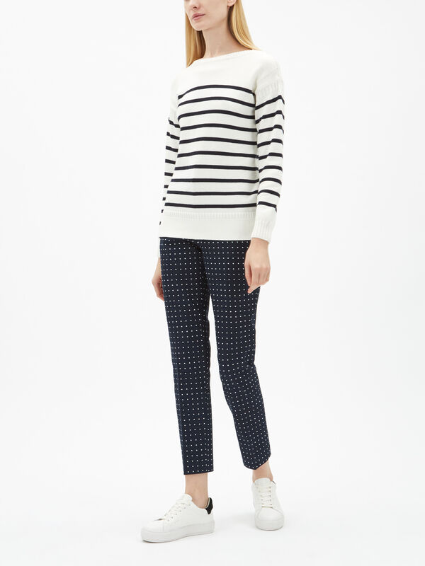 Guernsey Stripe Knit