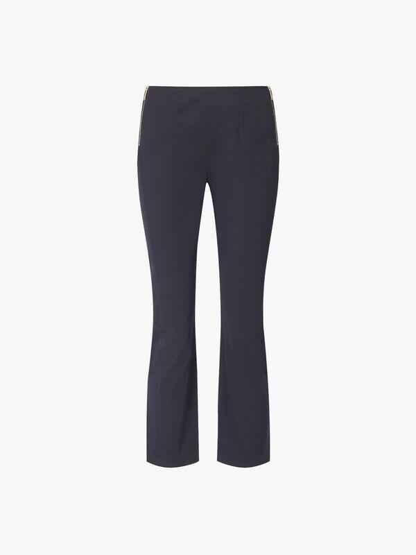 Delebile Ankle Side Zip Trousers
