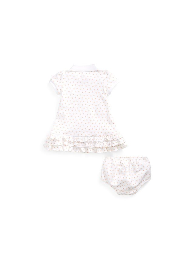 Ruffled Polo Dress & Bloomer