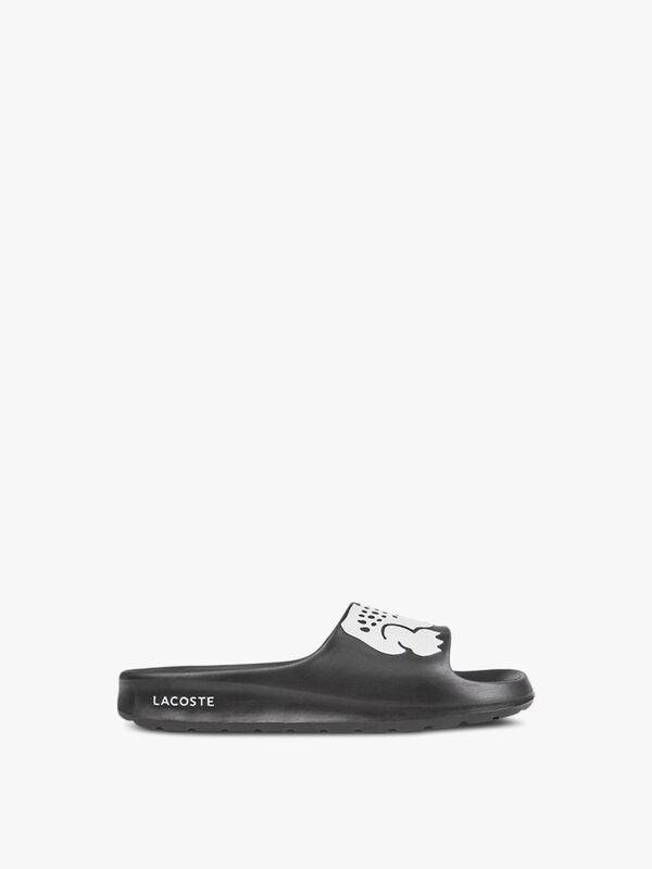 LACOSTE Croco Slide Sandals