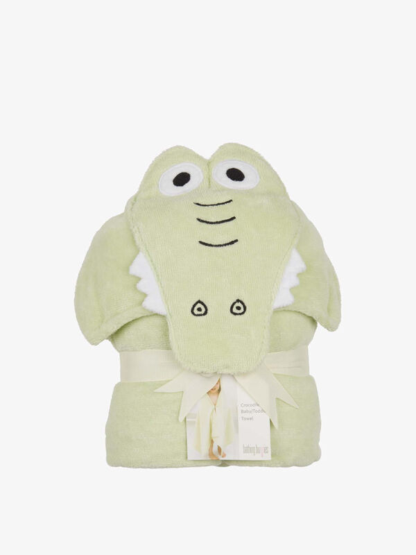 Crocodile Toddler Towel