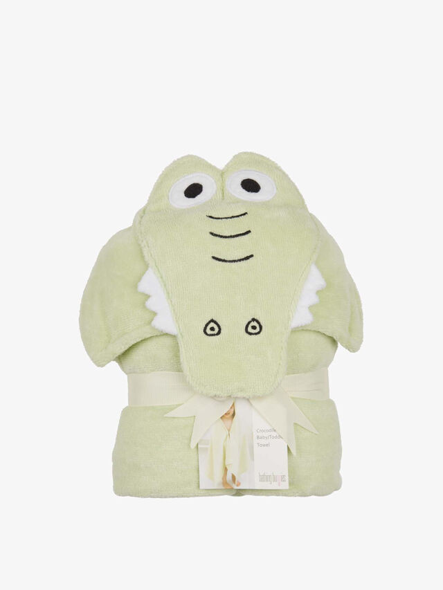 Crocodile Toddler Towel