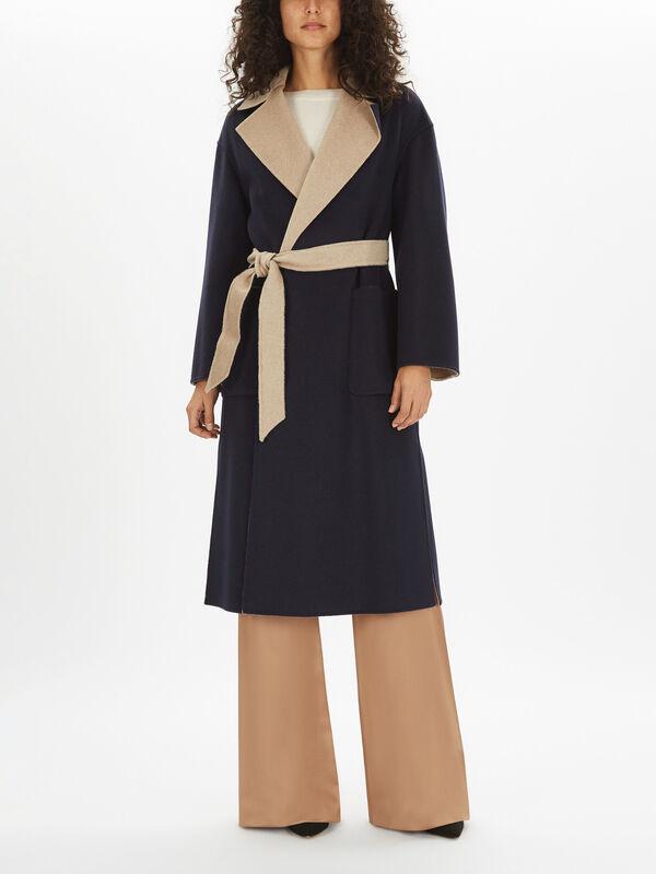 Zibetto Contrast Collar Coat