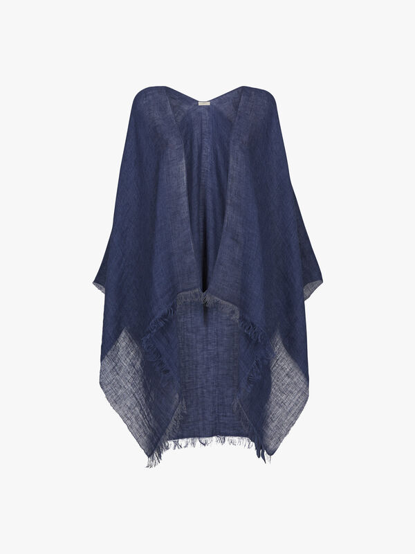 Light Plain Poncho