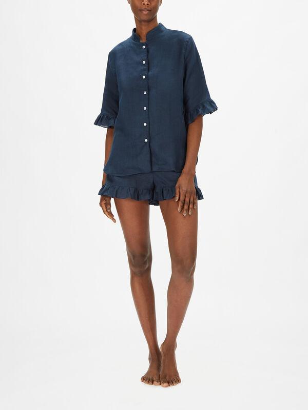 Linen Lounge Short Suit
