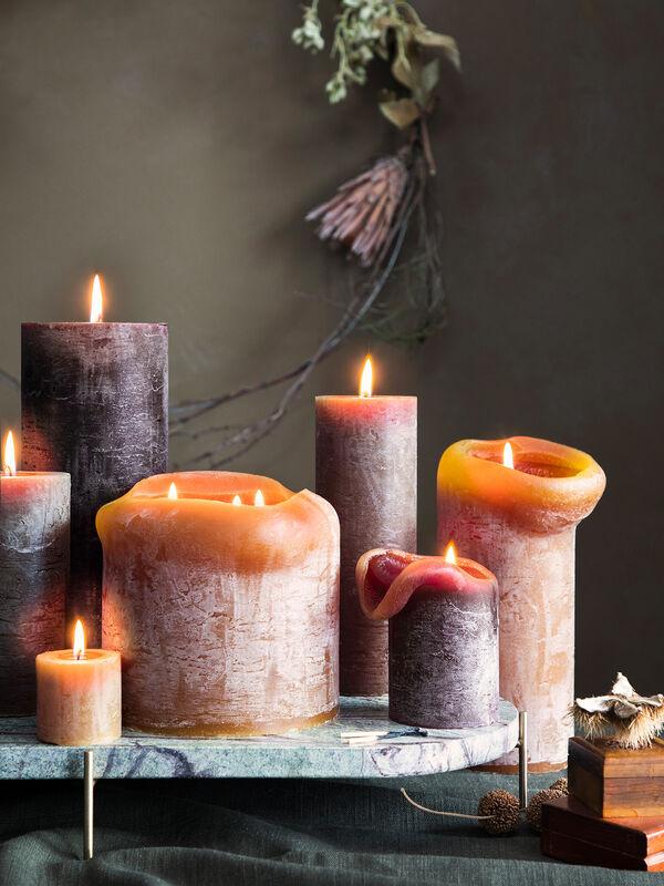 Rustic Candle 15cm 60hr