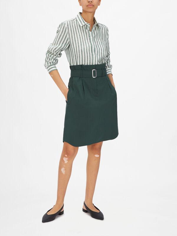 Monile Belted Skirt