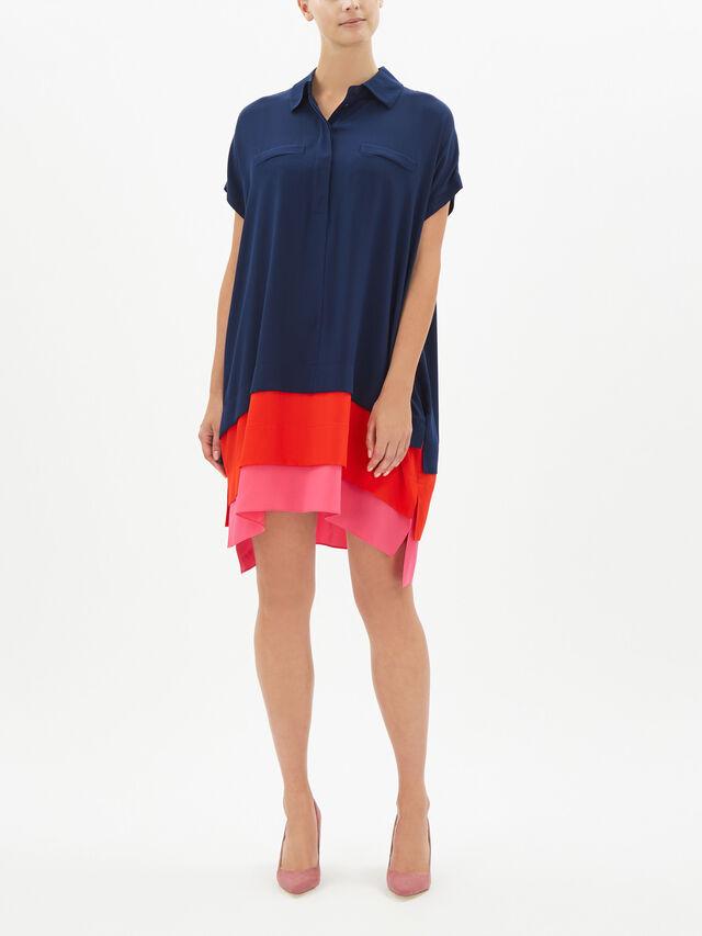 Hatsu Oversized Shirt Dress