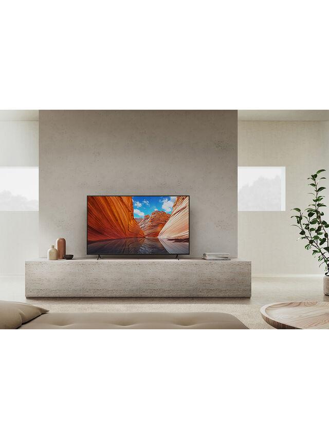 55'' LED HDR 4k Ultra Smart TV (2021) KD55X80JU