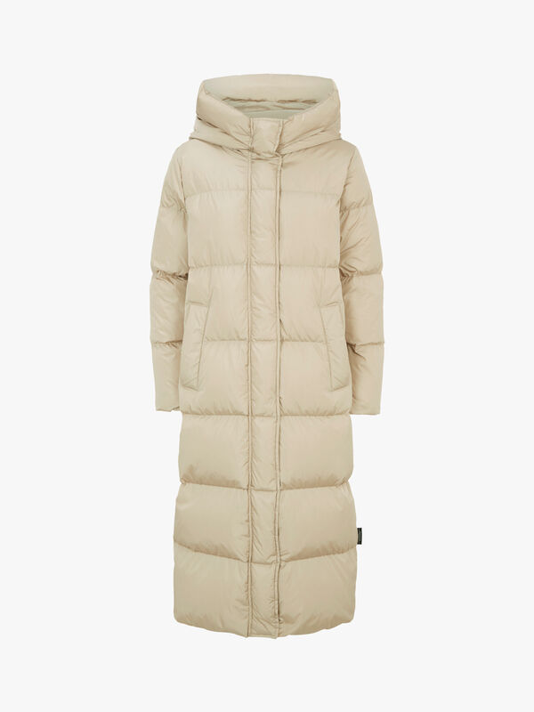 Battage Hooded Quilted Coat