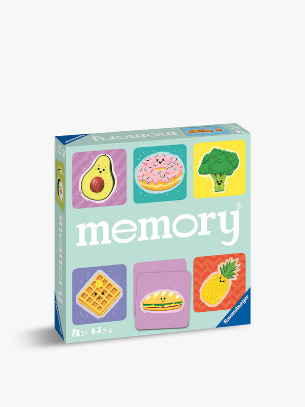 Funny Food Large Memory Game