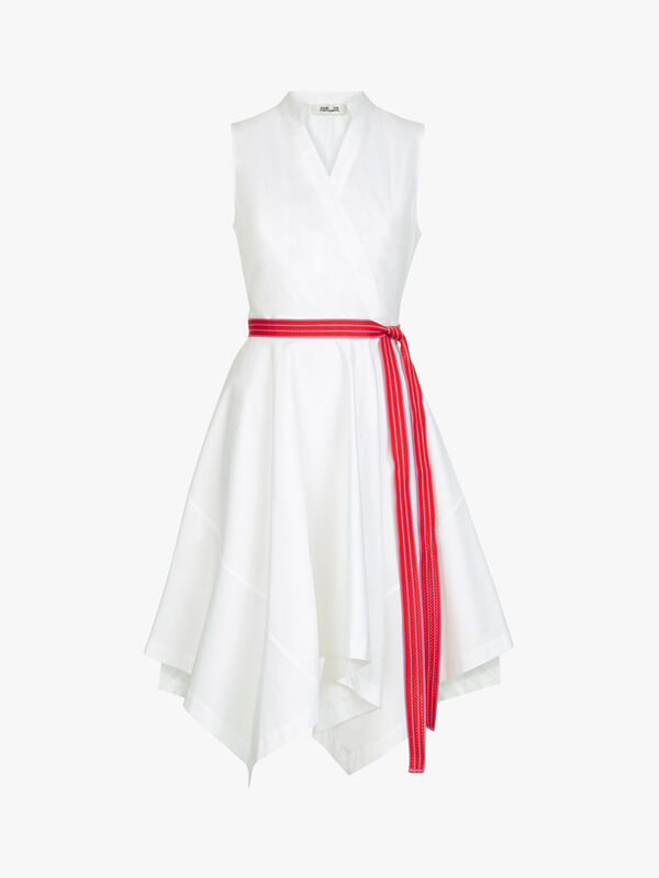 Marlene Cotton Belted Dress