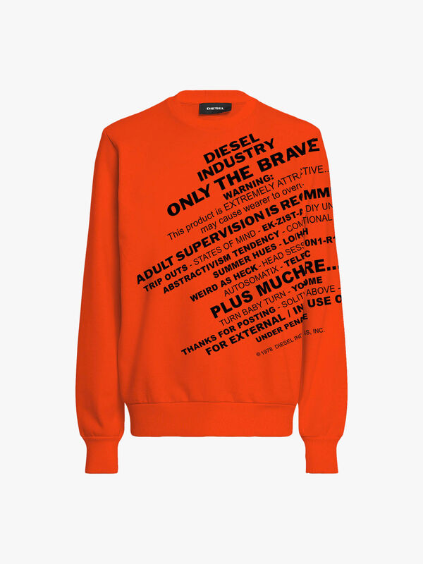 Only the Brave  Logo Sweatshirt