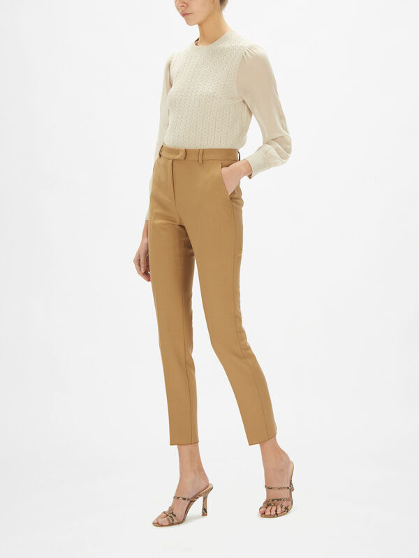 Alma Tapered Stretch Trousers