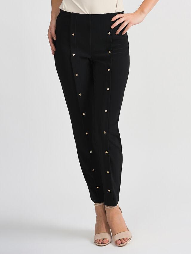 Stud Front Trouser