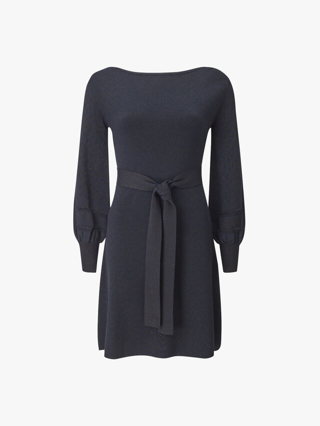 Premiato Long Sleeve Knitted Dress