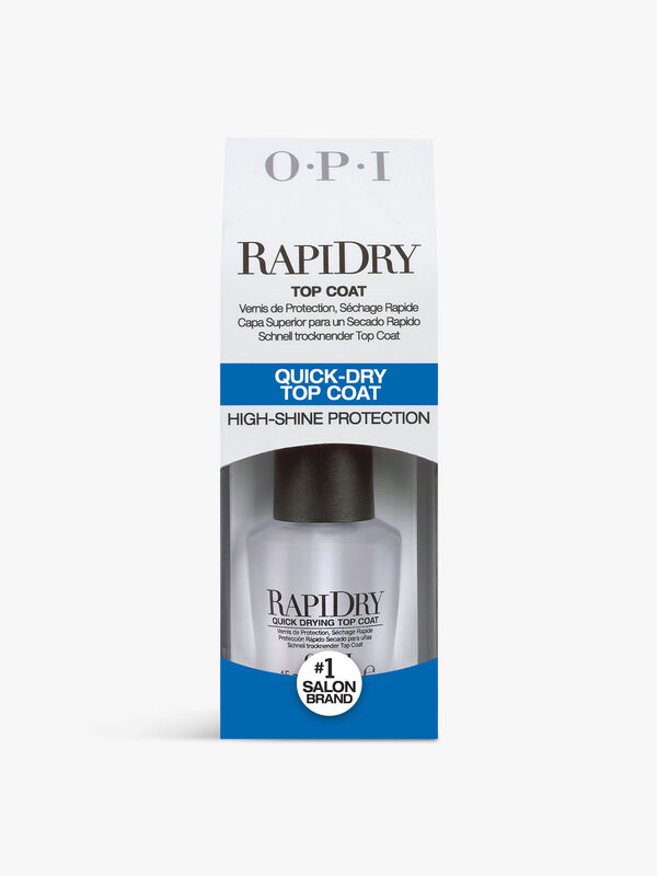 RapiDry Top Coat Quick Drying Nail Protection