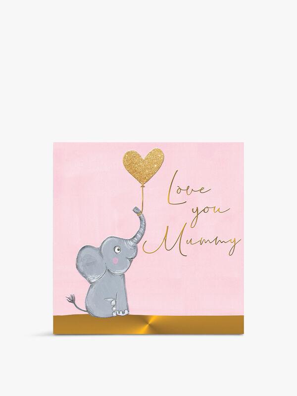 Love You Mummy Card