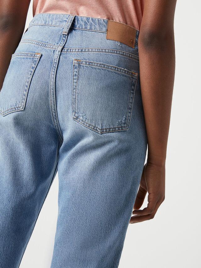 Palmira Denim Straight Leg Jean