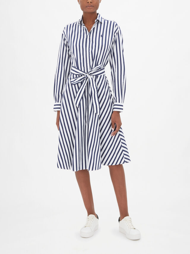 Ela Stripe Casual Dress