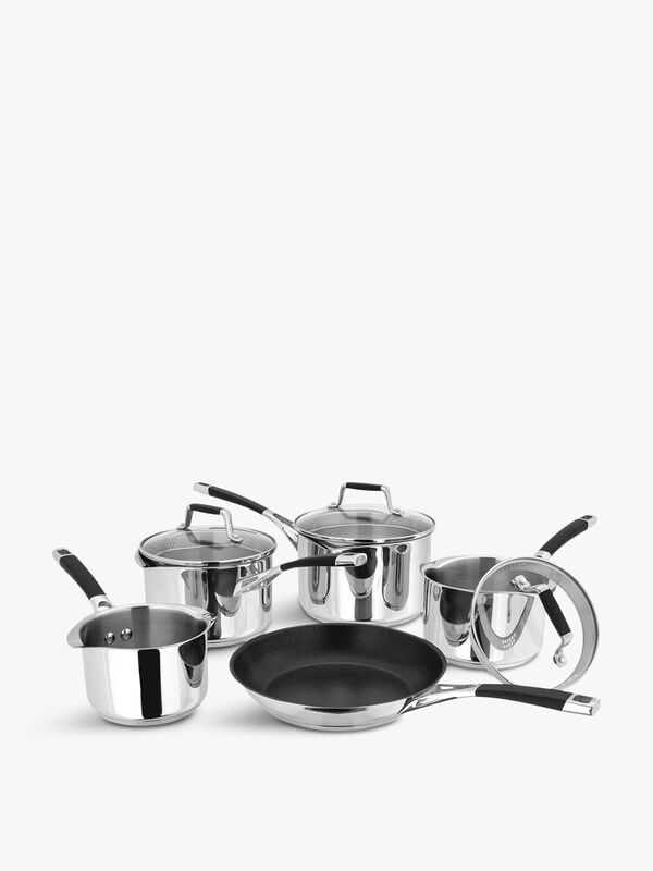 Five Piece Saucepan Set