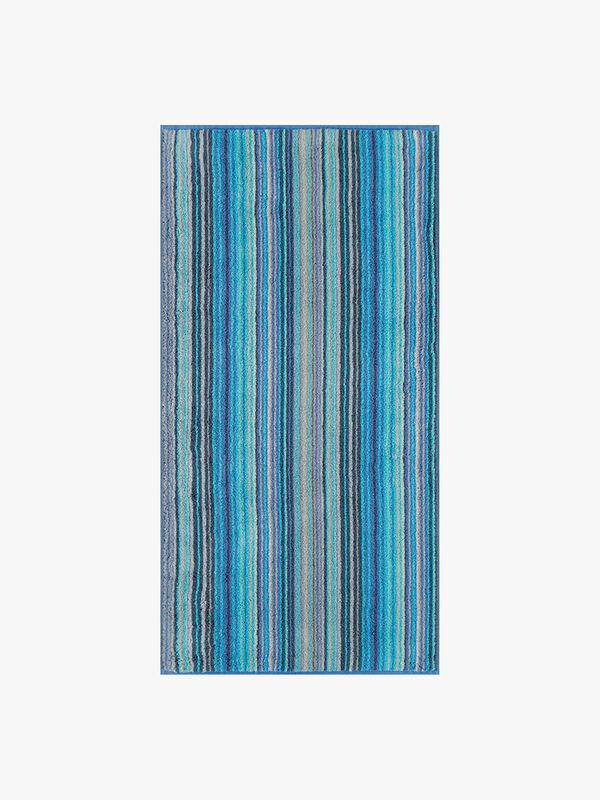Two Tone Stripe Bath Towel